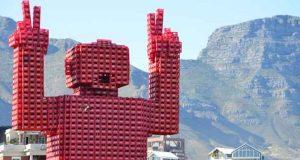 plastic Coke crates