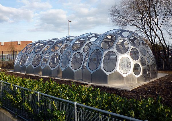 spaceplates greenhouse functions as a classroom and growing space greenhouse design ideas - Greenhouse Design Ideas