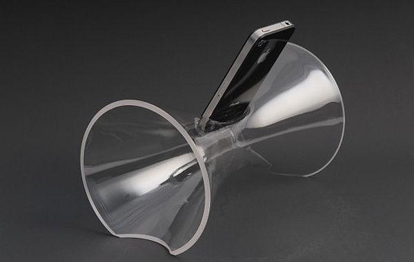 Blown Glass iPhone Amplifier