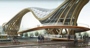Inhabitable Bridge for Amstredam