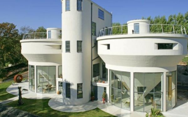 Water treatment Plant converted into a residential house in Kent, England