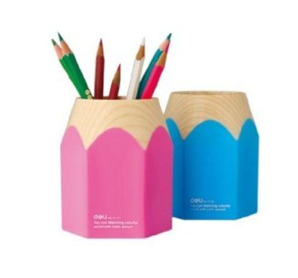 Wisedeal creative pencil tip design pen holder