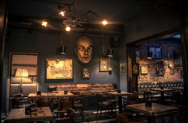 Romanian Steampunk Bar