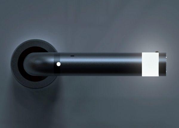 A Detachable Door Handle