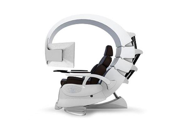 Emperor 200 futuristic chair