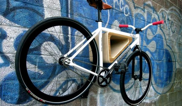 Bedford Ave bike rack 1