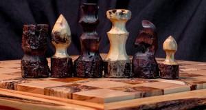 Handmade chess set (4)