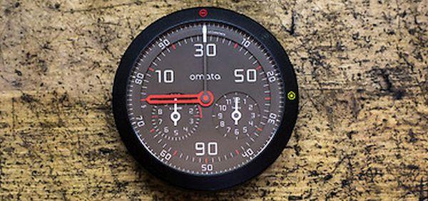 Omata's Pioneer Analog GPS speedometer 1
