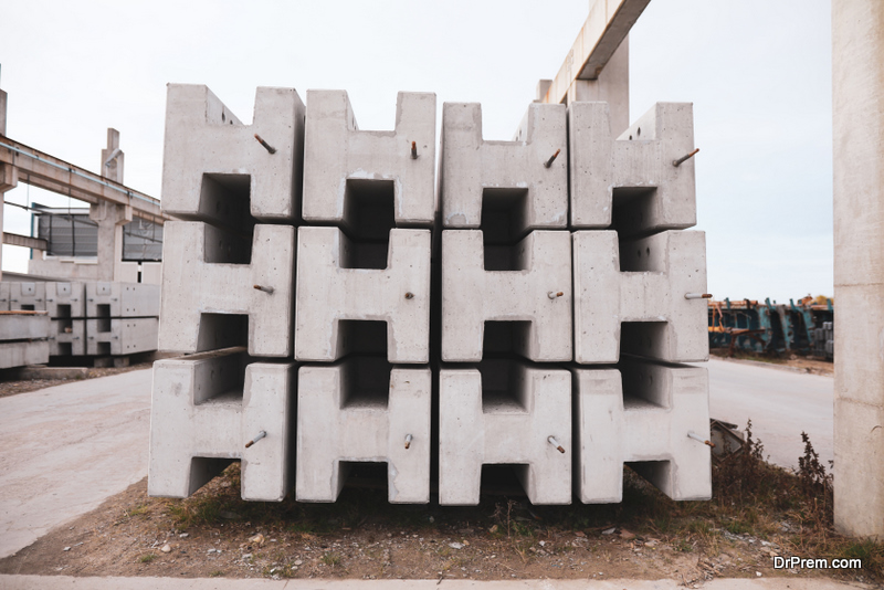 Betonblock are basically molds of concrete